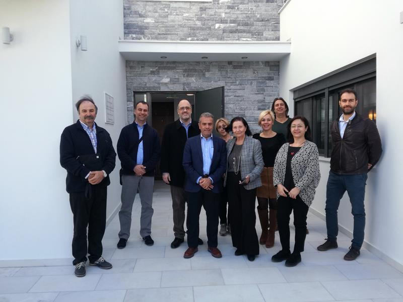 Eπίσκεψη της Ευρωπαϊκής Επιτροπής και της Διαχειριστικής Αρχής της Περιφέρειας Αττικής