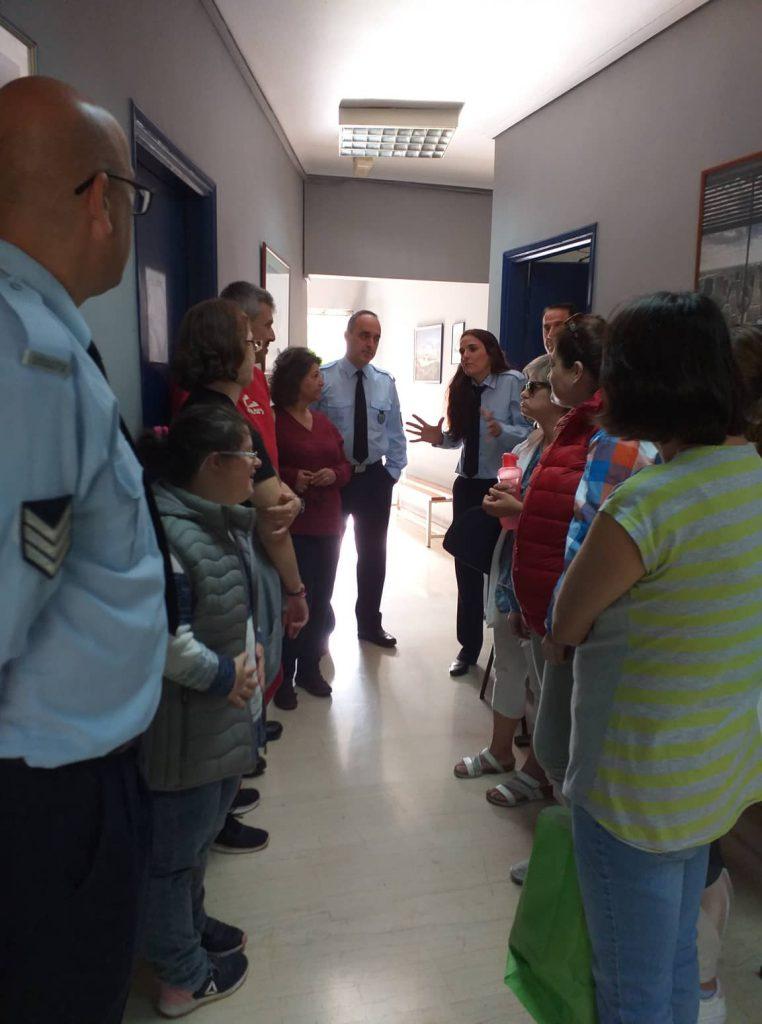 Επίσκεψη στο αστυνομικό τμήμα